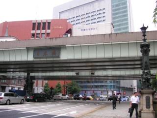 川がない新富橋、橋がない京橋(東京都中央区)