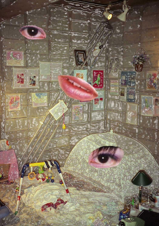 [寝床に雪が降る] - 伊藤洋子の美術