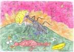 [如月夜話] - 伊藤洋子の絵
