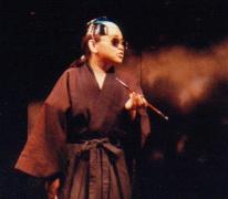 Yoko the master of Japanese Mafia ヤクザの親分に扮した伊藤洋子
