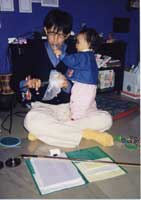 Hideki with Ma_ho / performance [窓は紫色] / [りるまざ堂個展 賑やかし] / 高円寺きのこ