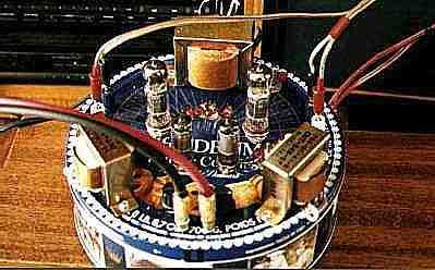 6BM8 Super Triode amp