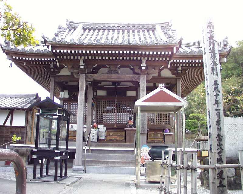 第 6番札所 万年山常福寺 大師堂